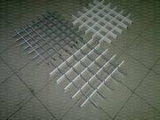 Потолки подвесные  Грильято 50х50, фото 2