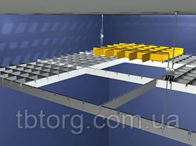 Потолки подвесные  Грильято 50х50, фото 3