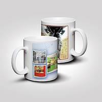 Печать на чашках Днепропетровск