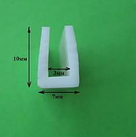 П-образный силиконовый профиль 3мм, фото 1