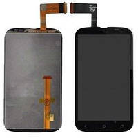 Дисплей (LCD) HTC T328w Desire V с сенсором черный