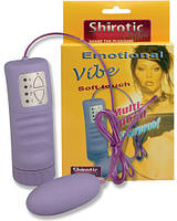 Виброяйцо Shirotic - Emotional Vibe Waterproof Bullet