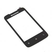 Сенсор (Touch screen) Lenovo A656/ A766 черный