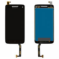 Дисплей (LCD) Lenovo S960 Vibe X с сенсором черный