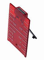 Мишень ADA красная для лазерных нивелиров с магнитом А00210 (А00210)