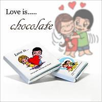 Шоколадный набор Love is Мини