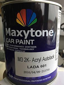 Акриловая краска Maxytone Lada 601 (цвет чёрный)