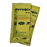 Биопрепарат для защиты растений от колорадского жука, клещей  Актофит