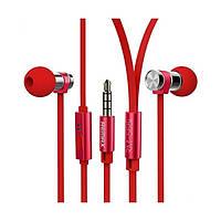 Наушники Remax RM-565i красный
