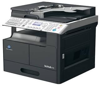 KONICA MINOLTA bizhub 215 (принтер/копир/сканер/ARDF/дуплекс)