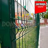 Секційний паркан з зварної сітки ПВХ Прикриє™, фото 3