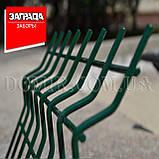 Забор секционный из сварной сетки в ПВХ Заграда™, фото 4