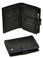Кожаный мужской кошелек c отделением под паспорт Dr Bond MS18. Натуральная кожа.