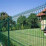 Забор секционный из сварной сетки в ПВХ Заграда™, фото 7