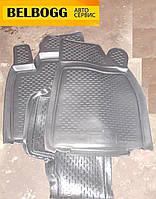 Коврики в салон резиновые черные Lexus RX350, Лексус РХ350