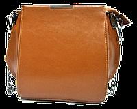 Сумка женская кожаная коричневого цвета на плечо LLA-870774