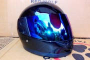 Шлем-интеграл BLD №-825 черный / хамелеон