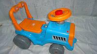 """Машинка-каталка для прогулок """"Беби-Трактор"""" ,гудок,багажник ,610 *420 *310мм,1+, Орион.Машинка-каталка Трактор"""
