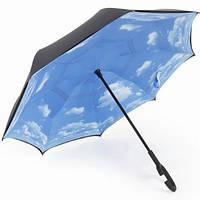 """Зонт """"Нежные облака"""", механическое открытие"""