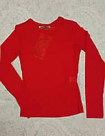 Блуза-сеточка детская на девочек Красная