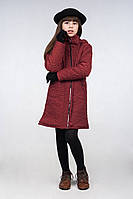 Демисезонное пальто для девочки, размеры 32, 34, 36. (арт.К-90)