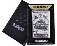 Зажигалка бензиновая Zippo Jim Beam в подарочной упаковке №4739-2