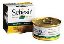 Schesir Chicken Surimi ФИЛЕ КУРИЦЫ С СУРИМИ - Влажный корм для кошек в консервах 0,085 кг
