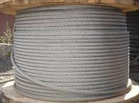 Канат (трос) стальной 10,5 мм ГЛ ГОСТ 3077-80