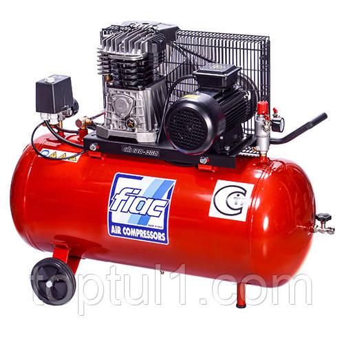Компрессор поршневой с ременным приводом AB100-360-220  100л 220В  FIAC