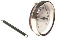 Термометр биметаллический накладной WATTS F+R810 (ТAB-63/120)