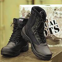 Ботинки мужские (берцы) тактические Mil-tec Tactical boots (YKK)