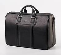Мужская сумка-саквояж  дорожная кожаная  SL 842