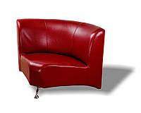 Офисный диван из кожзама Метро (850*850 h750) угловой