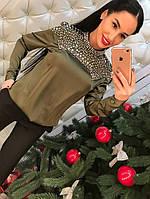 Стильная женский блуза, искусственный шелк
