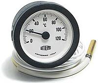 Термометр с выносным датчиком SVT 52 P 0-120°C 1000мм хром LT144