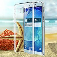 Чехол накладка пластик IMAK для Samsung Galaxy A5 2017 прозрачный