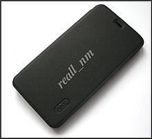 Оригинальный чехол для Xiaomi Redmi Note 3 Pro SE чехол-книжка Lenuo темно-серый ( черный)