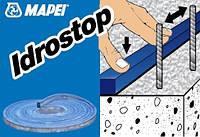 Гидрофильный резиновый профиль Idrostop 20x15мм/7м Mapei