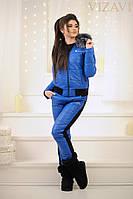 Женский синтепоновый костюм №157-5021 БАТАЛ