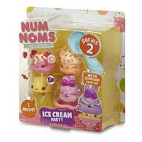 Набор ароматных игрушек NUM NOMS S2 - ДЖЕЛАТТО (3 нама, 1 ном, с аксессуарами)