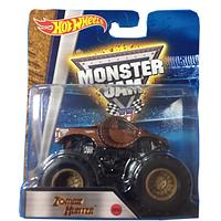Машинка внедорожник (Монстр-трак) Hot Wheels Monster Jam 1:64 Zombie Hunter