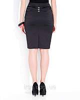 Женская нарядная юбка черного цвета, модель Alma Zaps.