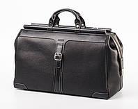 Дорожная кожаная сумка-саквояж  SL 846