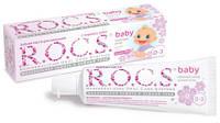 Набор  Baby Аромат липы от 0 до 3 лет з/паста + щетка ( Рокс )