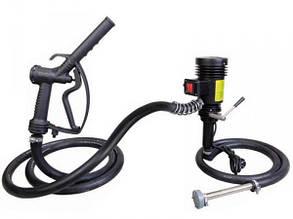 Groz 45521 EOP/DC/12 электрический насос 12В для быстрой заправки маслом и топливом