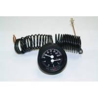 Термоманометр с 2 выносными датчиками Cewal TI 52 P (52мм, 0/120°С, 0-4бар, 1500мм)