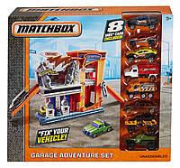 Игровой набор «Приключения в гараже», Matchbox Garage Adventure Set