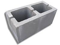 Блок бетонный стеновой  390x190x190 мм (ДНЕПР)