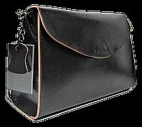 Стильная женская сумка CELINE из натуральной кожи коричневого цвета на цепочке FSS-002114