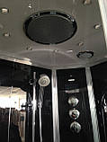 Гидромассажный бокс Grandehome WS103R/S6 правосторонний (чёрные задние стенки), 1200х900х2240 мм, фото 7